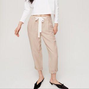 Aritzia Wilfred Allant Pants - In beige 00